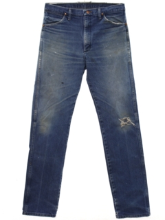 1990's Mens Straight Leg Denim Jeans Pants