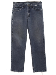 1990's Mens Straight Leg Loose Fit Denim Jeans Pants