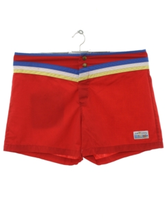1970's Mens Board Swim Shorts