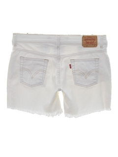 1990's Womens Cut Off Denim Shorts