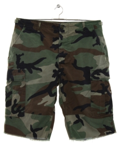 1990's Mens Army Cargo Shorts