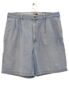 1990's Mens Wicked 90s Preppy Denim Shorts