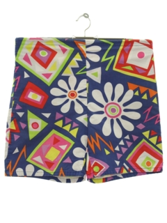 1970's Mens/Boys Mod Board Shorts