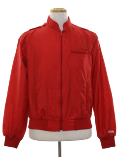 1980's Mens Members Only Style Windbreaker Jacket