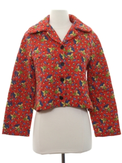 1970's Womens Cropped Hippie Style Jacket