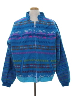 1980's Mens Guatemalan Hippie Jacket