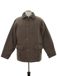1980's Mens Zip Ski Style Jacket