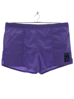 1980's Mens Wicked 90s Swim Shorts