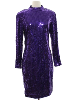 1980's Womens Cocktail Dress