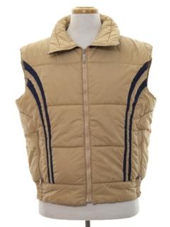 1980's Mens Totally 80s Ski Vest Jacket