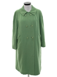 1950's Womens Wool Car Coat Jacket