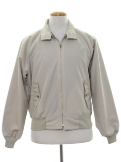 1980's Mens Golf Zip Jacket