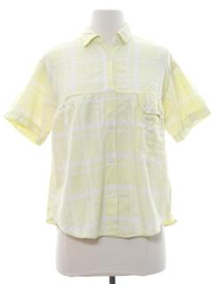 1960's Womens Maternity Style Shirt
