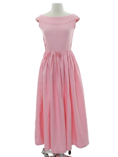 1950's Womens Maxi Dress