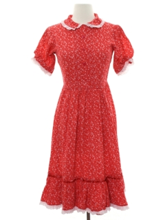 1960's Womens/Girls Dress