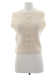 1970's Womens Shirt Vest