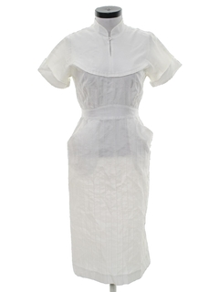 1960's Womens Uniform Dress