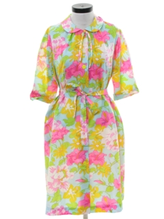 1960's Womens Lounge Dress