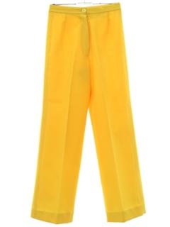 1970's Womens Mod Pants