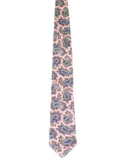 1970's Mens Silk Necktie