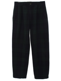 1990's Mens Preppy Slacks Pants