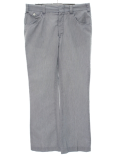 1980's Mens Flared Slacks Pants