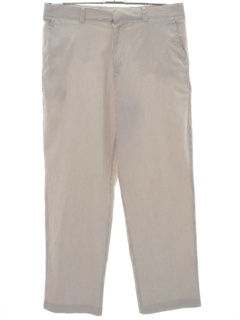 1990's Mens Seersucker Slacks Pants