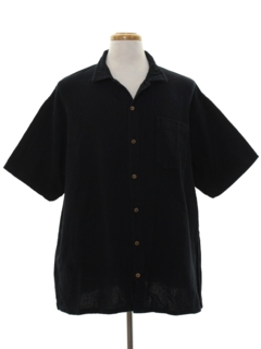 1990's Mens Hippie Style Sport Shirt