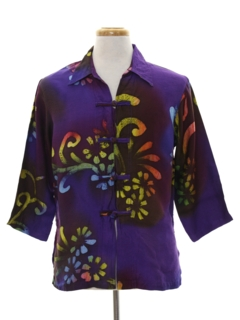 1970's Mens Ethnic Hippie Style Shirt