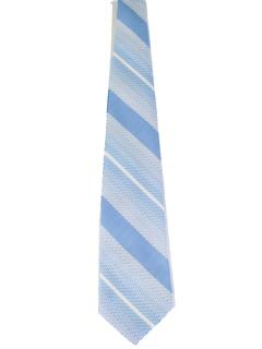 1970's Mens Wide Diagonal Disco Necktie