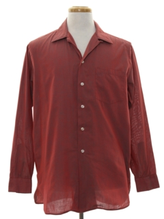 1950's Mens Loop Collar Shirt