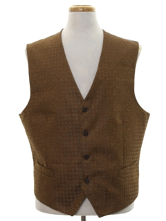 1990's Mens Fancy Vest