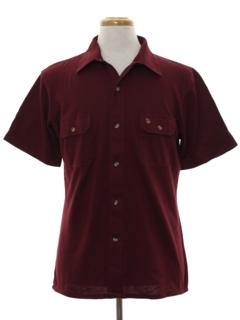 1980's Mens Jersey Sport Shirt