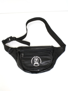 1990's Unisex Accessories --Wicked 90s Leather Fanny Pack
