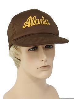 1980's Mens Accessories --Baseball Trucker Hat