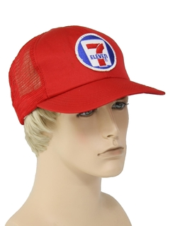 1980's Mens Accessories --Baseball Trucker Hat