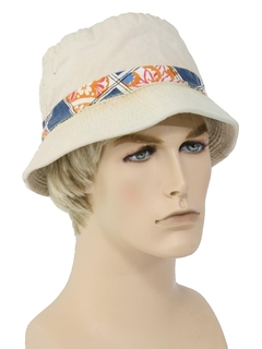 1980's Mens Accessories --Bucket Cap Hat