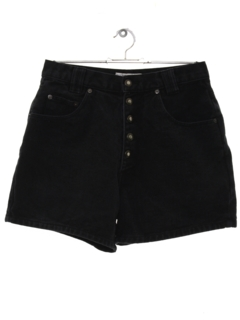 1980's Womens Wicked 90s High Waisted Denim Shorts