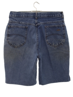 1980's Womens Totally 80s High Waisted Denim Shorts