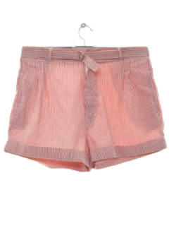 1980's Womens Totally High Waisted 80s Shorts