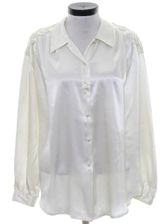 1980's Womens Totally 80s Cocktail Shirt