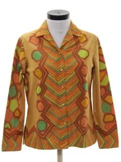 1960's Womens Mod Sport Shirt