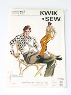 1970's Mens Western Pattern
