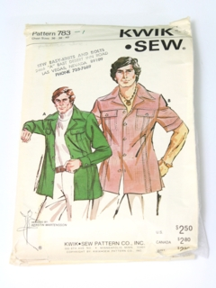 1970's Mens Leisure Pattern