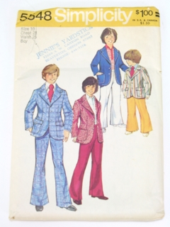 1970's Mens/Childs Pattern