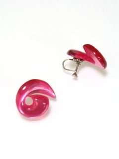 1960's Womens Accessories - Screw Earrings