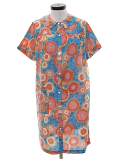 1960's Womens House Dress