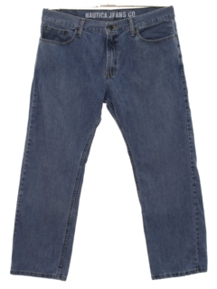 1990's Mens Relaxed Tapered Leg Denim Jeans Pants
