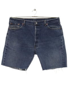 1990's Mens Denim Cut Off Shorts