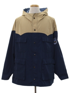 1980's Mens Overcoat Rain Jacket